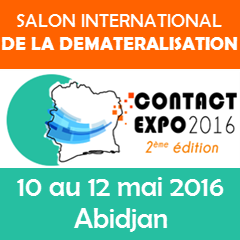 SALON INTERNATIONAL DE LA DEMATERIALISATION – 10 AU 12 MAI 2016 – ABIDJAN